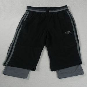Adidas Adizero climalite shorts with extension EUC